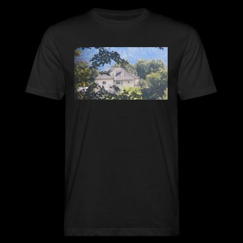 Altes Haus Vintage - Männer Bio-T-Shirt