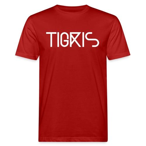 Tigris Vector Text White - Men's Organic T-Shirt