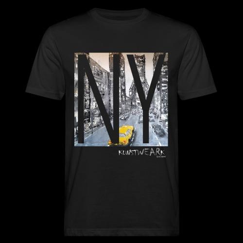 TIME SQUARE - Männer Bio-T-Shirt
