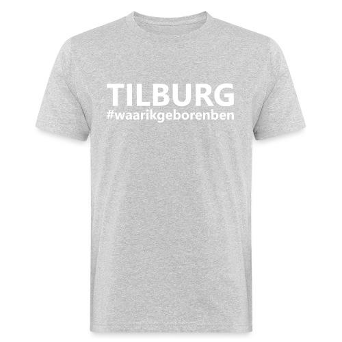 #waarikgeborenben - Mannen Bio-T-shirt