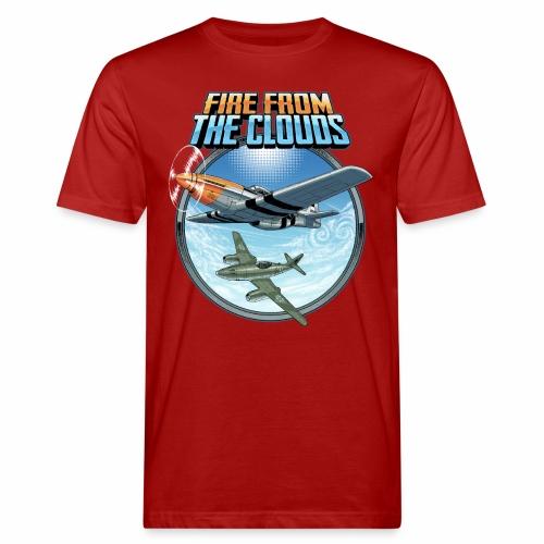 Le feu des nuages - T-shirt bio Homme