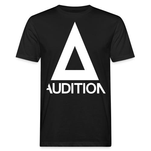 Audition Logo - Männer Bio-T-Shirt