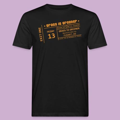 grass is greener - Männer Bio-T-Shirt