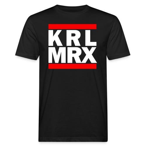 KrlMrxWhite - Männer Bio-T-Shirt