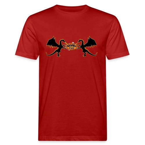 Styler Draken Design - Mannen Bio-T-shirt