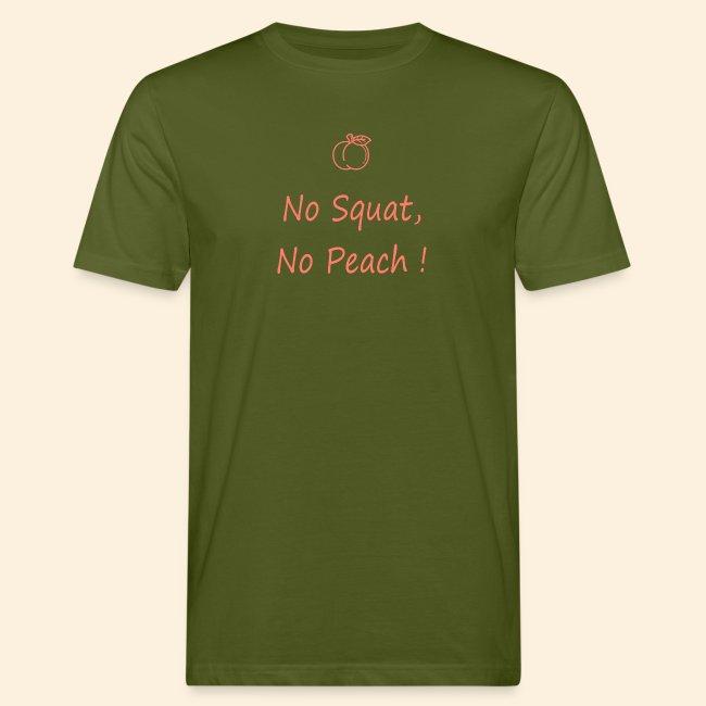 No squat, no peach corail