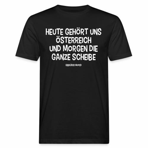 Und morgen die ganze Scheibe - Männer Bio-T-Shirt