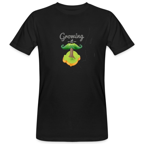 Moustache tree - Men's Organic T-Shirt