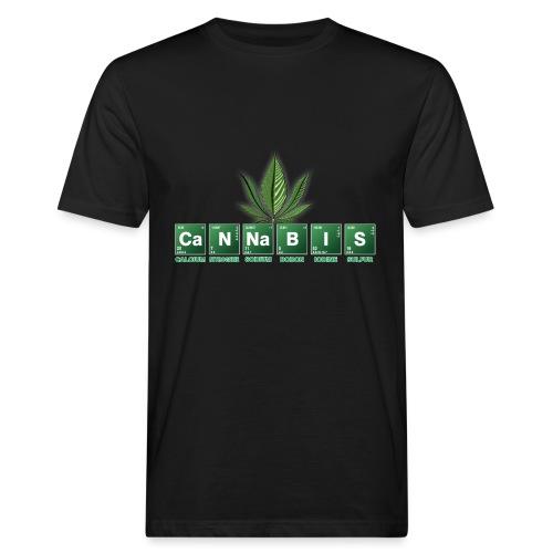 cannabis - Männer Bio-T-Shirt