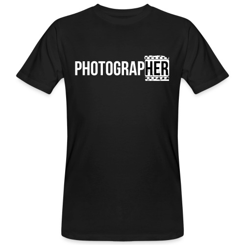 Photographing-her - Men's Organic T-Shirt