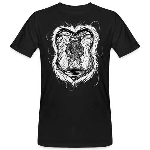 Horned Metalhead - Men's Organic T-Shirt