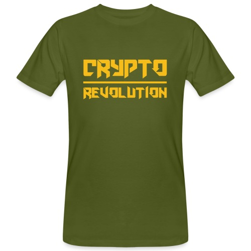 Crypto Revolution III - Men's Organic T-Shirt