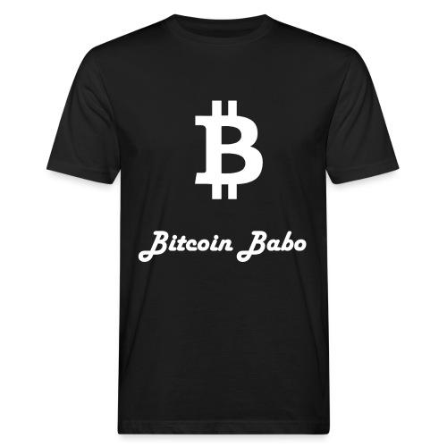 Bitcoin Babo - Männer Bio-T-Shirt