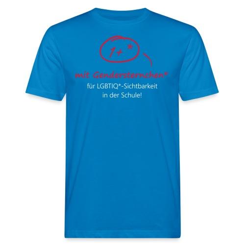 Gendersternchen* eps - Männer Bio-T-Shirt