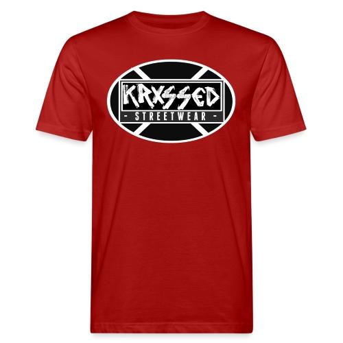 KRXSSED BASIC - Mannen Bio-T-shirt