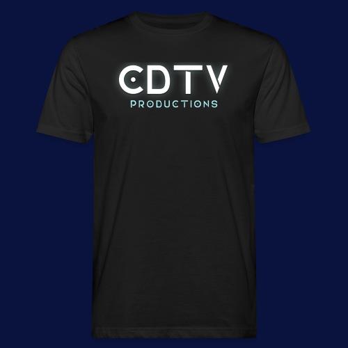 Full CDTVProductions Logo - Men's Organic T-Shirt