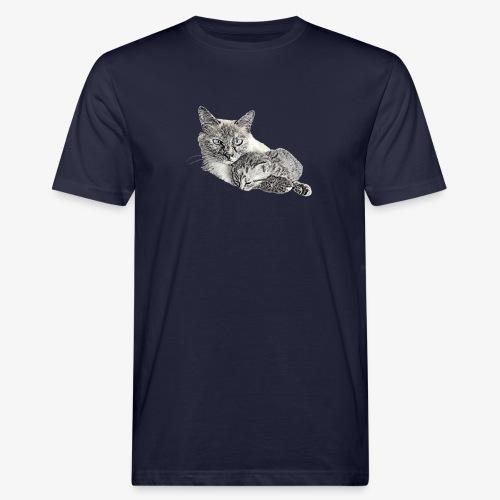 Snow and her baby - Men's Organic T-Shirt