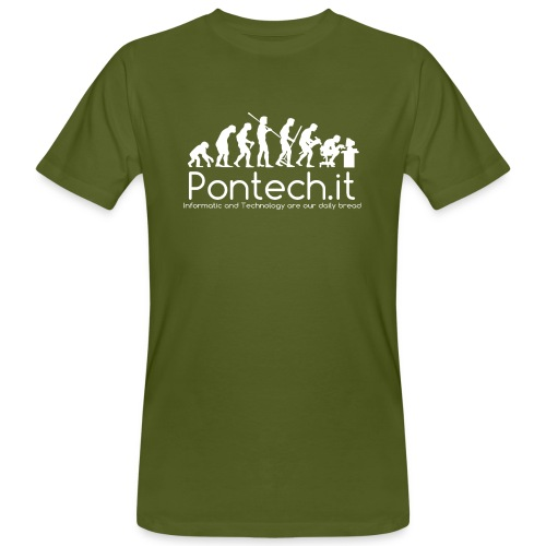 Pontech.it - T-shirt ecologica da uomo