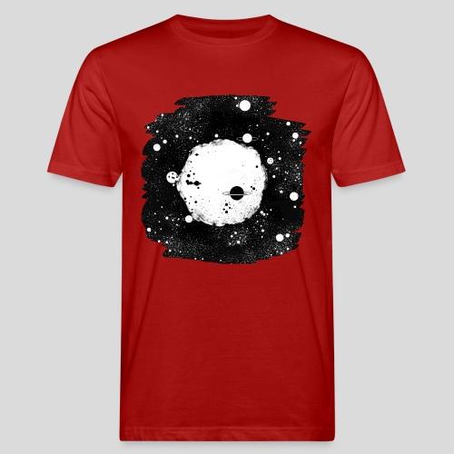 Mond und Sterne - Männer Bio-T-Shirt