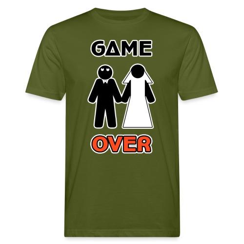 Addio al Celibato - Game Over - T-shirt ecologica da uomo