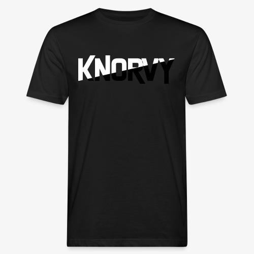 KNORVY - Mannen Bio-T-shirt