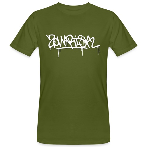 Zonarisk Logo Blanc - T-shirt bio Homme