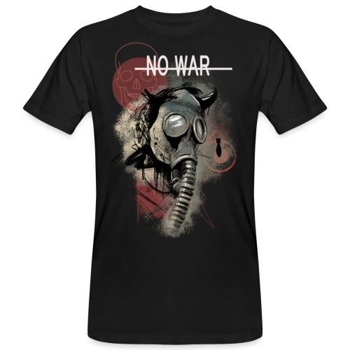 No War - Männer Bio-T-Shirt