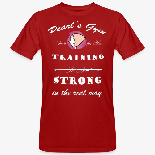 Strong in the Real Way - T-shirt ecologica da uomo