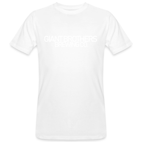 Giant Brothers Brewing co white - Ekologisk T-shirt herr