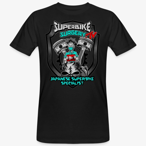 Superbike Surgery TV - Men's Organic T-Shirt