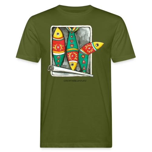 Les sardines - T-shirt bio Homme