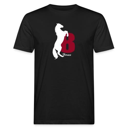White_18Horses - Ekologisk T-shirt herr