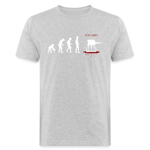 Evoluti...Ops - T-shirt ecologica da uomo