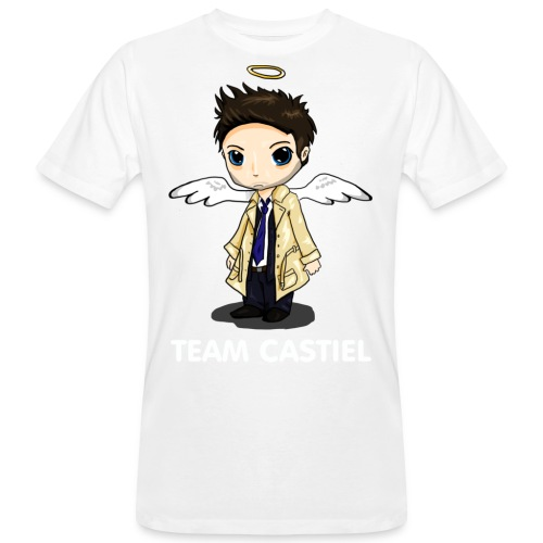 Team Castiel (dark) - Men's Organic T-Shirt