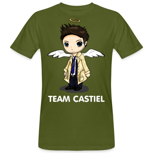 Team Castiel (dark) - Men's Organic T-Shirt
