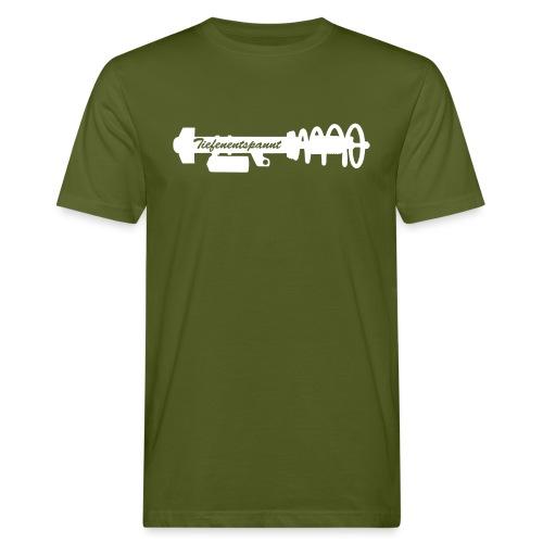 Tiefenentspannt - Männer Bio-T-Shirt