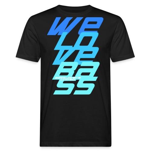 WeLoveBass08 - Männer Bio-T-Shirt
