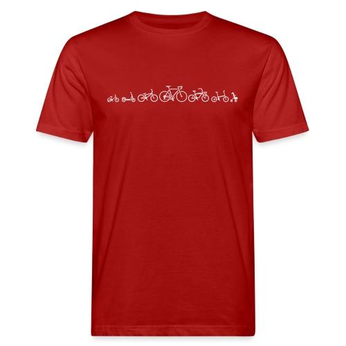 ution évolution de vélo vélo vêtements de vélo - T-shirt bio Homme