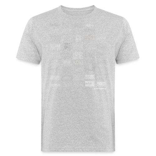 Synth Evolution T-shirt - Black - Men's Organic T-Shirt