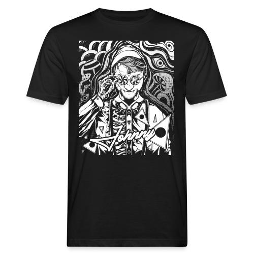 Psychedelisches Psychedelic Egon Johnny Line Shirt - Männer Bio-T-Shirt