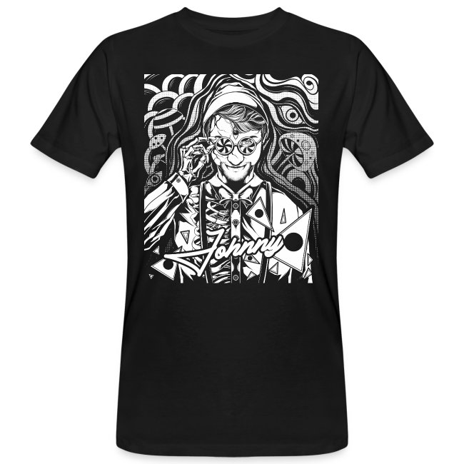 Psychedelisches Psychedelic Egon Johnny Line Shirt