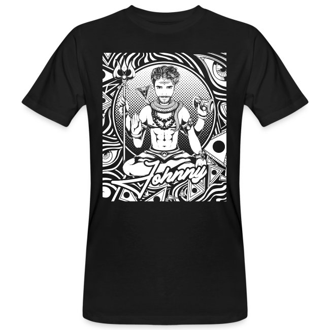 Psychedelisches Psychedelic Niko Johnny Line Shirt