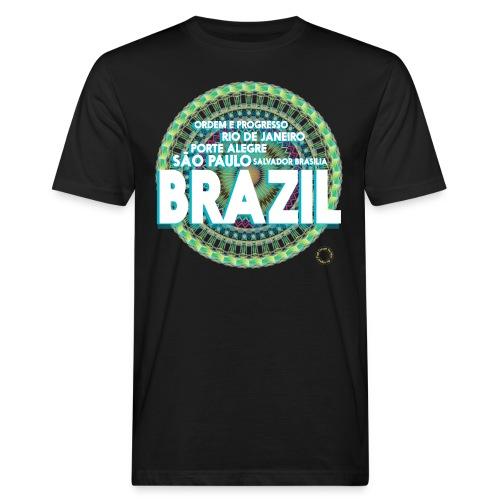 Lemon Brazil Mandala - T-shirt bio Homme