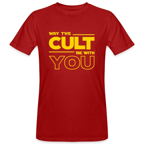 MAY THE CULT BE WITH YOU - Camiseta ecológica hombre