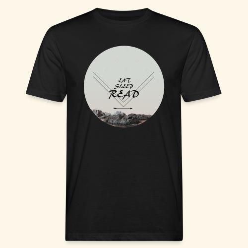 Eat, Sleep, Read - Ekologisk T-shirt herr