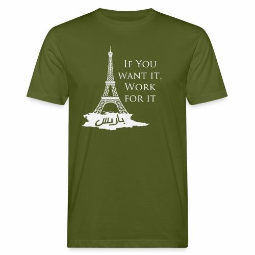 Paris dream work - T-shirt bio Homme