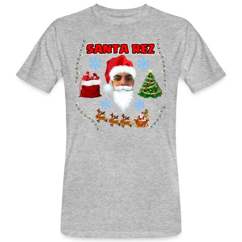Santa Rez - Miesten luonnonmukainen t-paita