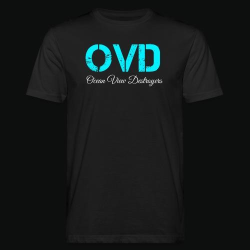 ovd blue text - Men's Organic T-Shirt