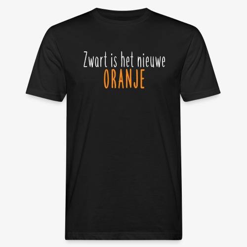 Zwart is het nieuwe oranje - Mannen Bio-T-shirt