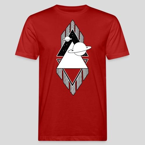 Universum - Black and White - Männer Bio-T-Shirt